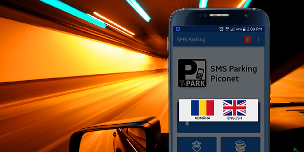 Home Screen SMS Parking