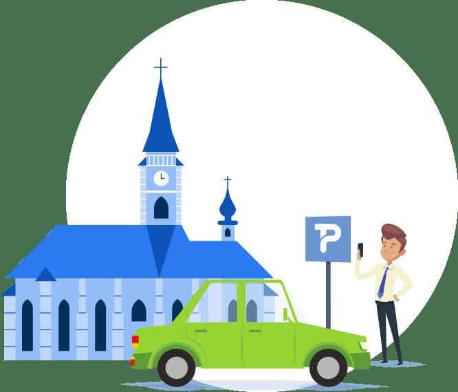 În Cluj-Napoca poți plăti parcarea cu cardul bancar direct din aplicația TPARK